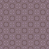Purple Colors Round grid Pattern. Korean traditional Pattern Des Stock Images