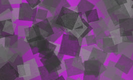 Purple colour background with bokeh squares Stock Images
