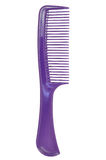 Purple comb. Isolated on white close up look Royalty Free Stock Photography