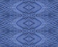 Purple cotton knitting design Stock Images