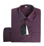 Purple cotton shirt Royalty Free Stock Images