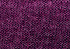 Purple cotton towel texture. Royalty Free Stock Image