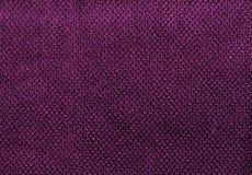Purple cotton towel texture. Royalty Free Stock Image