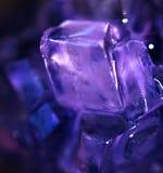 Purple Crystal Stock Photo