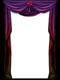 Purple curtain Royalty Free Stock Photo