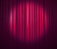 Purple curtain Royalty Free Stock Photo