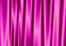 Purple curtain reflect with light spot on background. Stock Photos