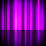 Purple Curtains Background Shows Theater Or Stage Royalty Free Stock Image