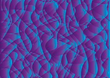 Purple Curve Abstract background, texture design, vector. Illutration Royalty Free Illustration