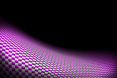Purple curve carbon fiber. On the black shadow. car accessories.  background and texture Royalty Free Stock Photography