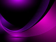 Abstract purple background lines Stock Images
