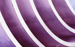 Purple curves Stock Image
