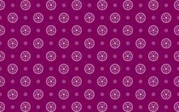 Purple damask  pattern Royalty Free Stock Photos