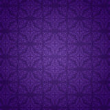 Purple damask pattern background. Decorative background with a purple damask pattern Stock Photography
