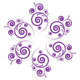 Purple design Royalty Free Stock Photo