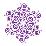 Purple design Stock Photo