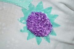Purple design Stock Images