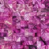 Purple designer tile. Background illustration of artistic purple tile mosaic Royalty Free Stock Images