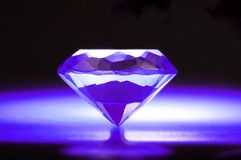 Purple Diamond Royalty Free Stock Image