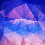 Purple diamond background Stock Images