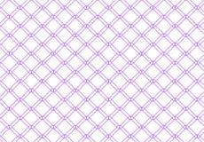 Purple diamond shape with round corner pattern Stock Photos