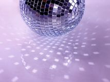 Purple disco background Stock Photography