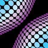 Purple Disco Balls Royalty Free Stock Images