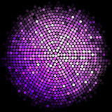 Purple disco lights background Royalty Free Stock Images