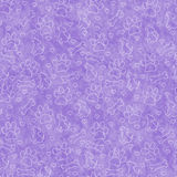 Purple Doggy Tile Pattern Repeat Background. Purple Dog Paw Prints, Puppy, Bone and Hearts Tile Pattern Repeat Background that is seamless and repeats Royalty Free Stock Image
