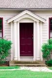 Purple Door. Of a house Stock Photos