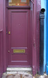 Purple Door Stock Photography