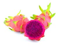 Purple dragon fruit Royalty Free Stock Photo