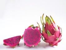 Purple dragon fruit Stock Photography