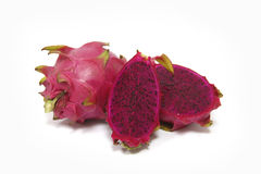 Purple dragon fruit Stock Photography
