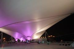 Purple dream 2010 shanghai expo Stock Photography