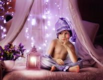 Purple dreams Royalty Free Stock Image