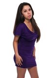 Purple dress Stock Photo