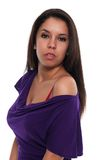 Purple dress Royalty Free Stock Photography