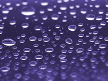 Purple Droplets. This is a macro abstract purple droplet pattern shot royalty free stock photography