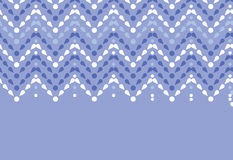 Purple drops chevron seamless pattern background Royalty Free Stock Image