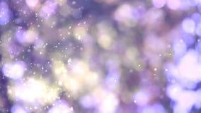Purple dust stock video