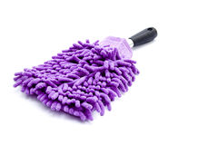 Purple Duster Stock Image