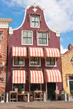 Purple Dutch gable Stock Photography
