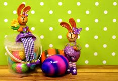 Purple, Easter, Easter Egg, Easter Bunny royalty free stock photography