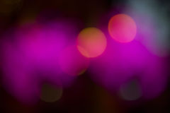 Purple effect bokeh Royalty Free Stock Images