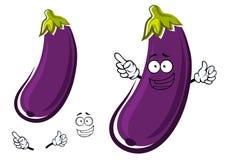 Purple eggplant or aubergine vegetable Royalty Free Stock Photography
