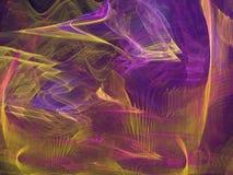 Purple en Goud stock illustratie