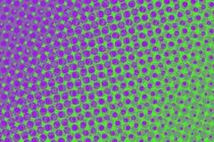 Purple en groen stock illustratie