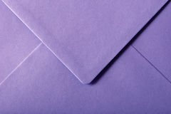 Purple envelope Royalty Free Stock Image