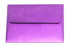 Purple envelope Royalty Free Stock Photos